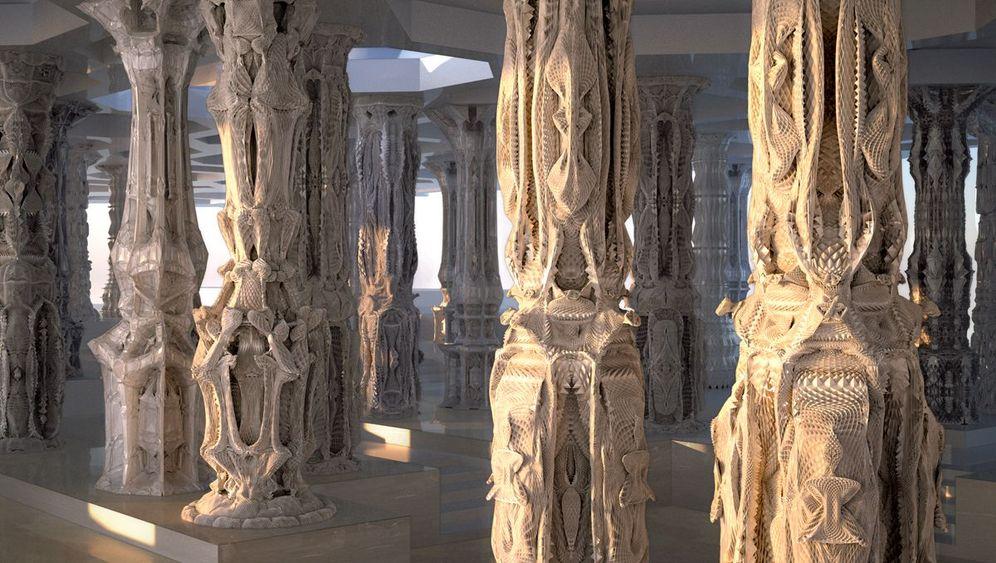 Computergeneriert: Die Trickfilm-Säulen