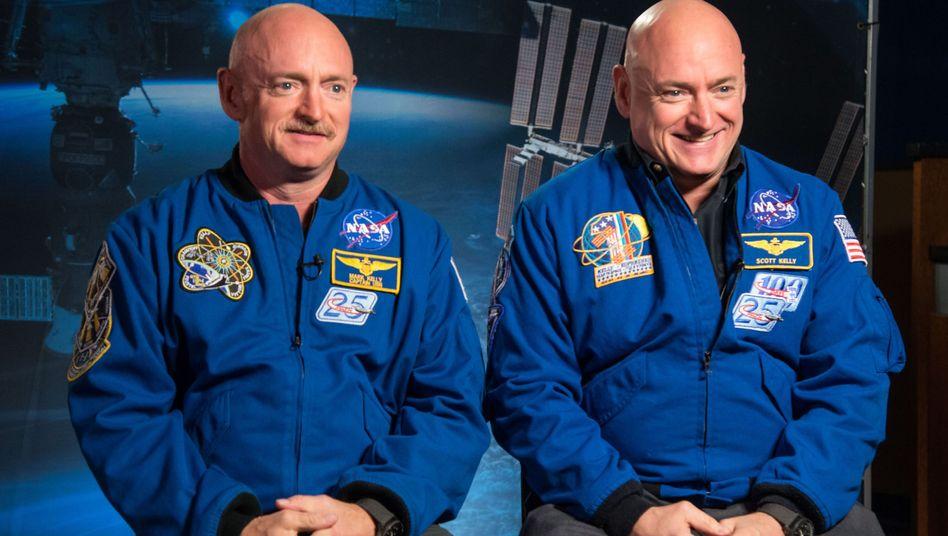 Mark (links) und Scott Kelly