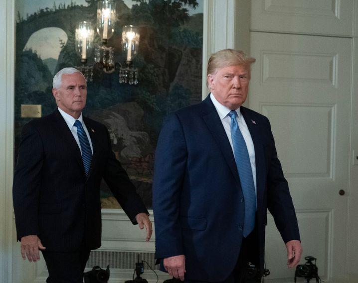 Donald Trumps Vize Mike Pence könnte der nächste US-Präsident werden
