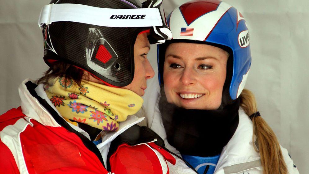 Höfl-Riesch und Vonn: Comeback der Ski-Freundschaft
