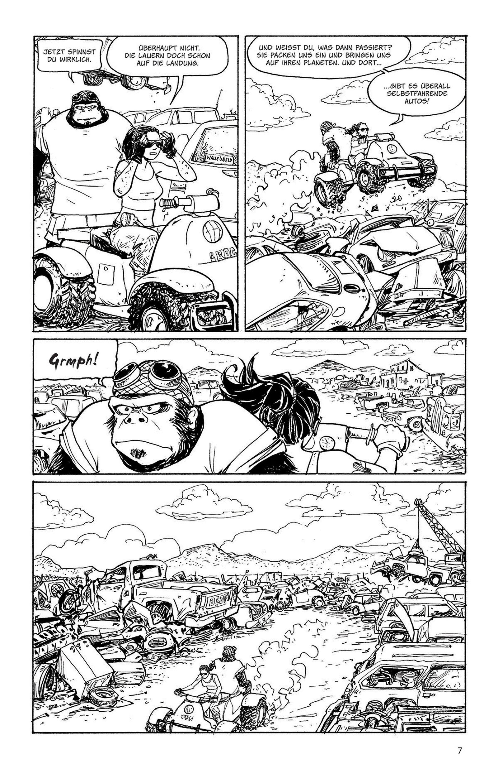 EINMALIGE VERWENDUNG Comictipps/ Terry Moore: Motor Girl