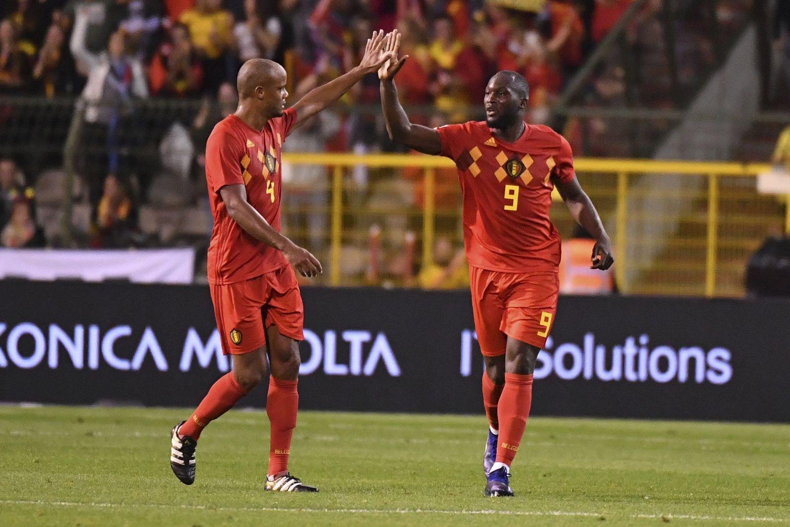 Belgium Switzerland Nations League Soccer