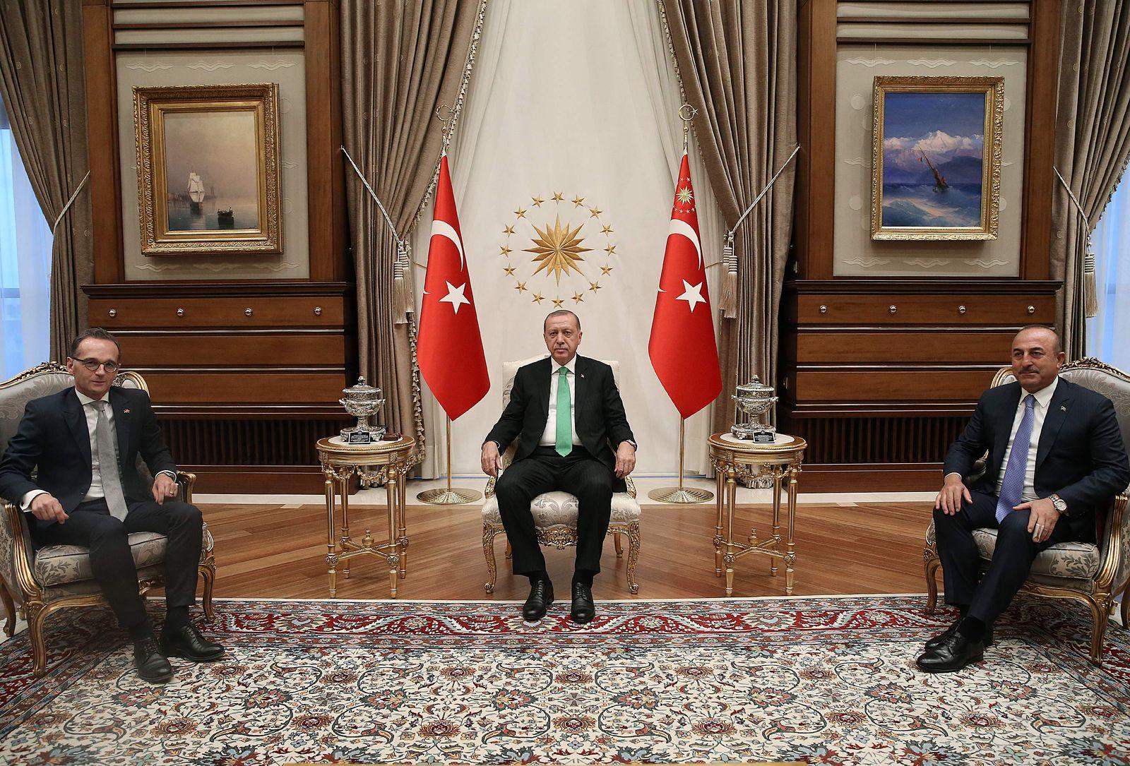 Maas bei Erdogan