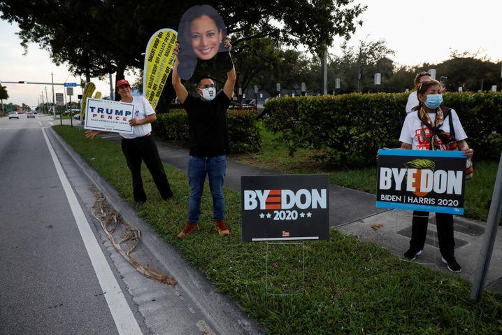 """""""Tschüss, Don"""": Verfrühte Demokraten-Freude in Miami"""