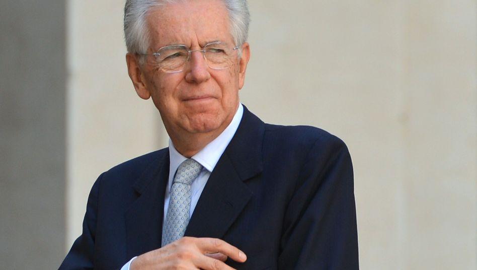"""Mario Monti: """"Autonomie des Parlaments steht nicht zur Debatte"""""""