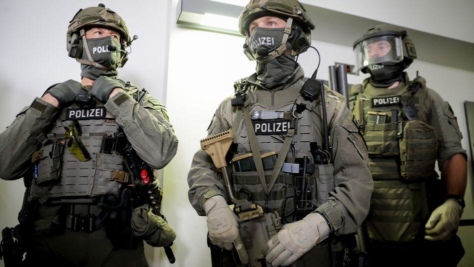 Männer der Spezialeinheit GSG 9 (Archiv)