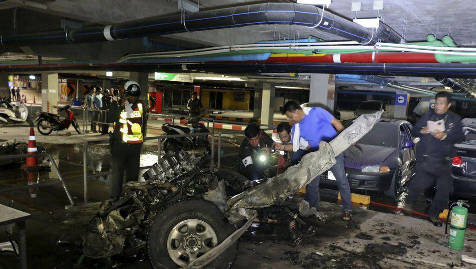 Anschlag in Thailand: Autobombe explodiert auf Koh Samui