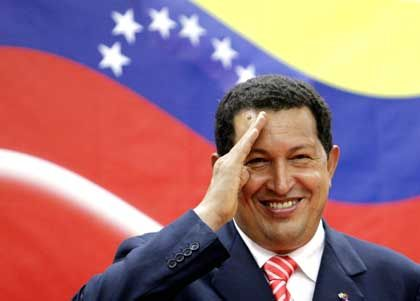 "Venezuelan President Hugo Chavez: George W. Bush is the ""greatest terrorist on earth."""