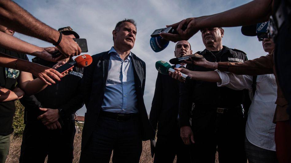 Frontex-Chef Fabrice Leggeri in Bulgarien