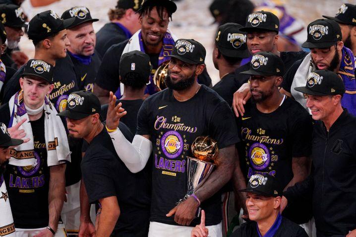 Los Angeles Lakers: Zum 17. Mal den NBA-Titel gewonnen