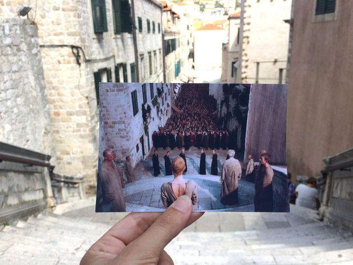 """""""GoT""""-Szene in Dubrovnik"""