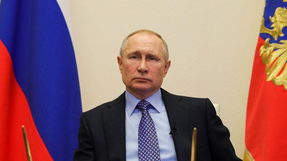 Kremlchef Wladimir Putin will die USA unterstützen