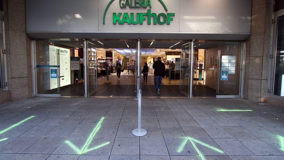 Galeria-Kaufhof-Filiale in Stuttgart