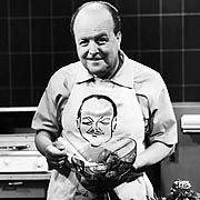Clemens Wilmenrod pioneered the TV cooking show in 1950s West Germany.