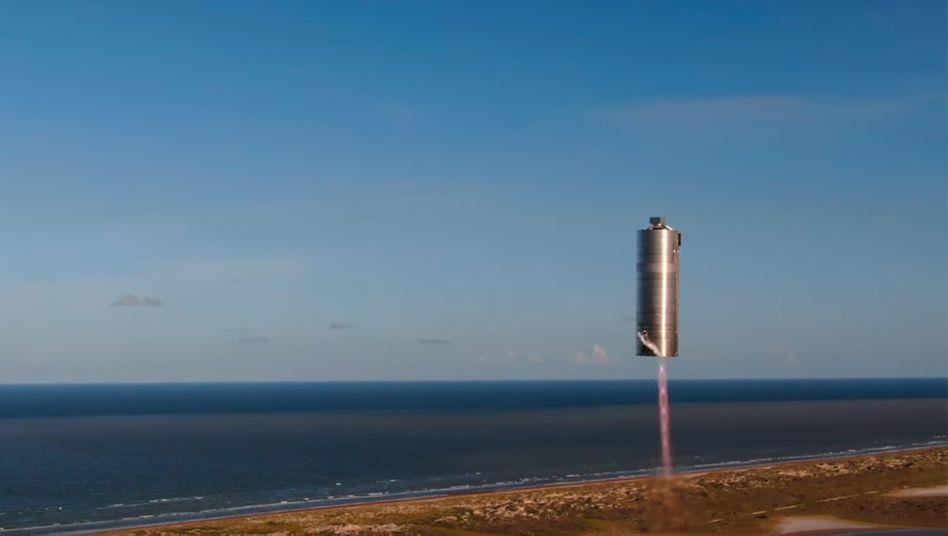 Starship-Prototyp SN5: Erfolgreicher Startversuch in Boca Chica