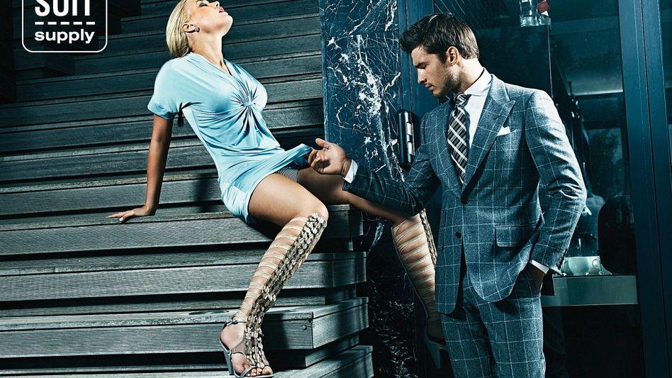 »Suit Supply«-Werbemotiv
