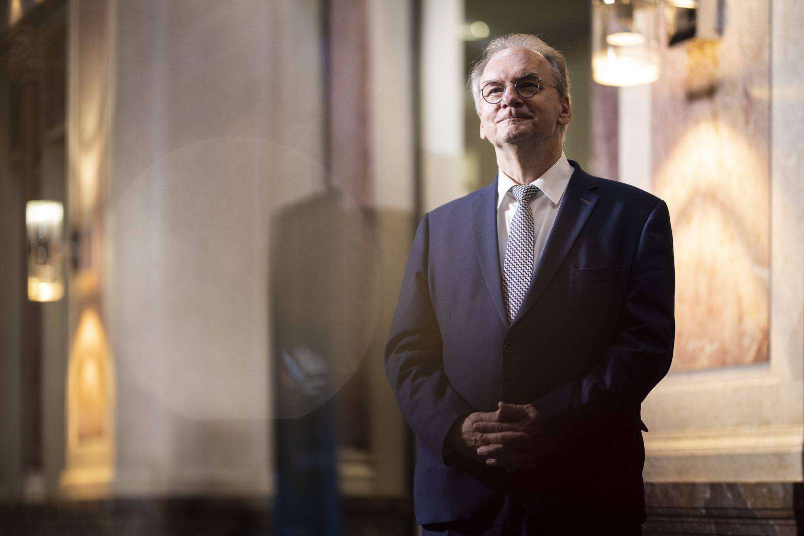 Reiner Haseloff, CDU, Ministerpraesident von Sachsen-Anhalt, aufgenommen am Rande der Sitzung des Bundesrates in Berlin