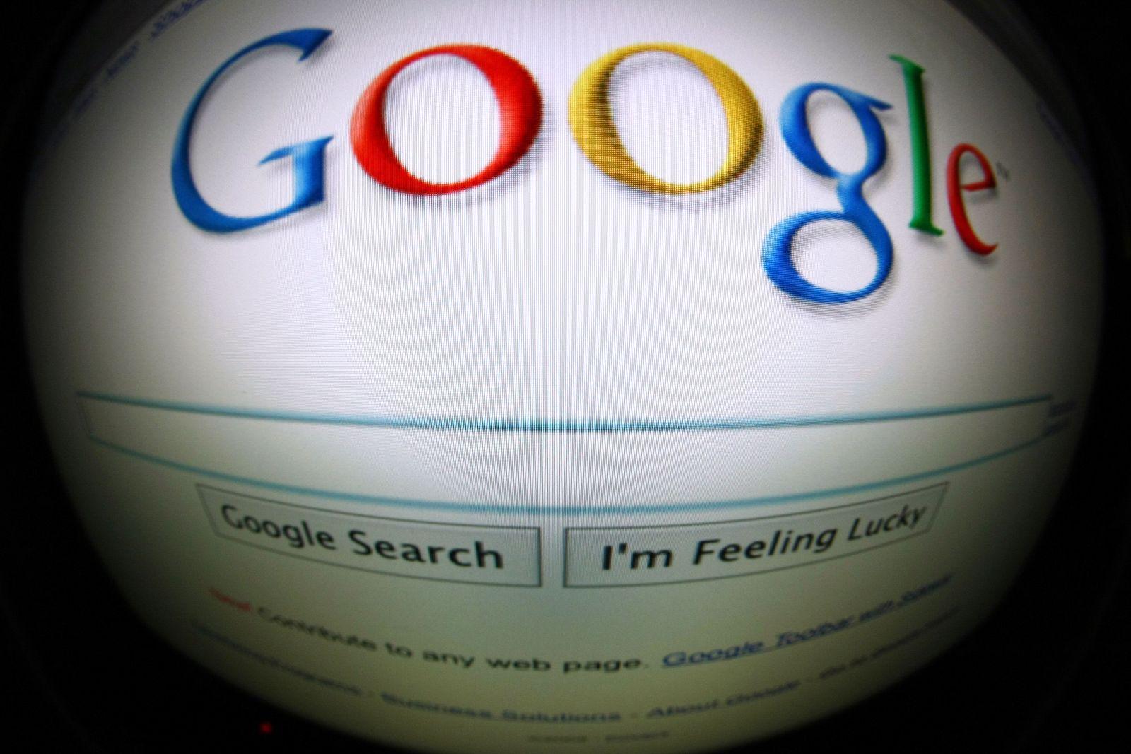 google verzerrtes logo