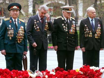 Russische Kriegsveteranen: Hauptlast der Befreiung