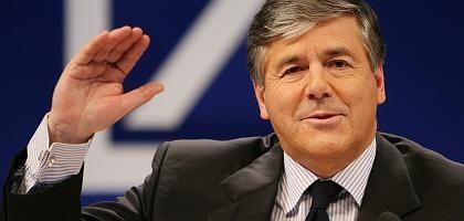 """Deutsche-Bank-Chef Ackermann: """"Wir haben sehr viel Kredit gegeben"""""""