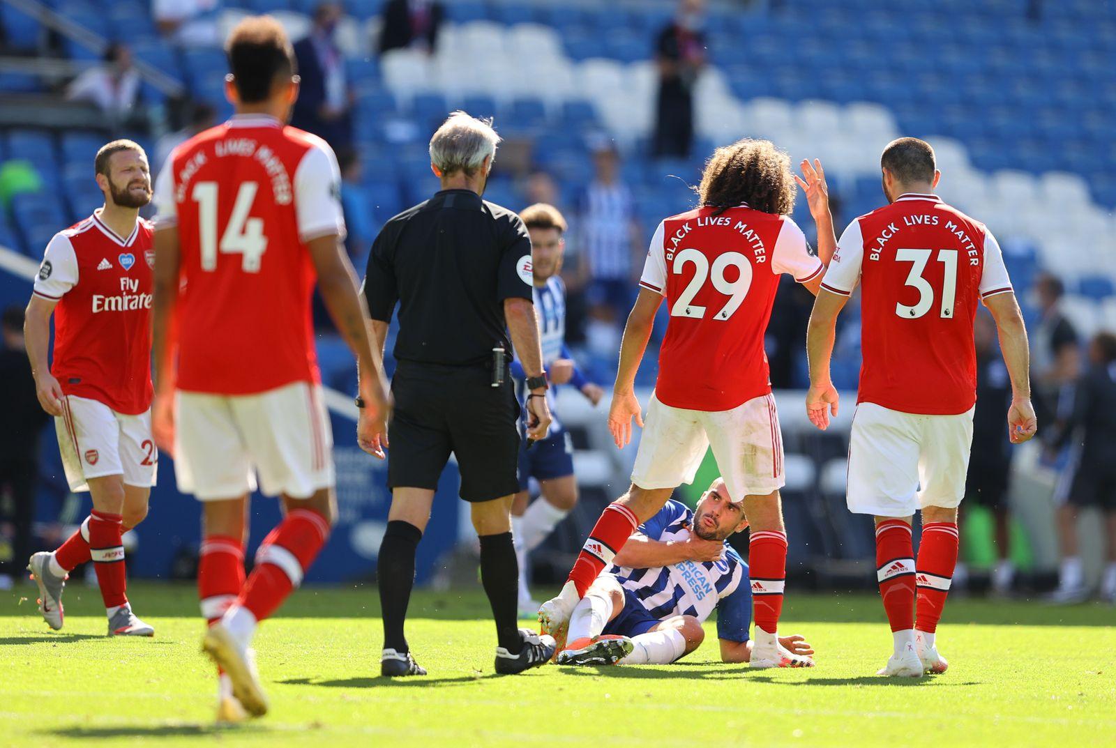 Premier League - Brighton & Hove Albion v Arsenal