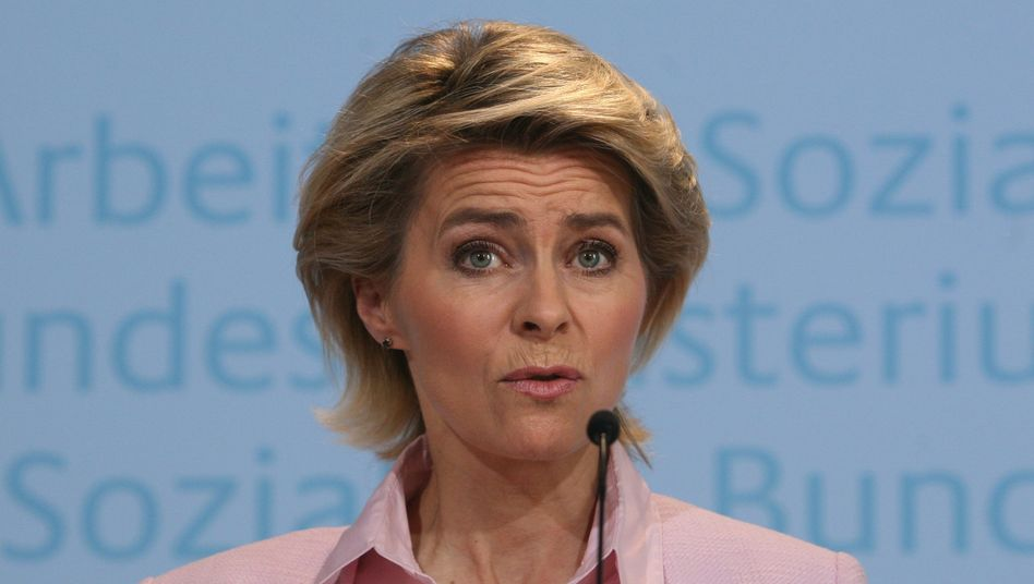 """Arbeitsministerin Ursula von der Leyen: """"Im globalen Wettbewerb bestehen"""""""