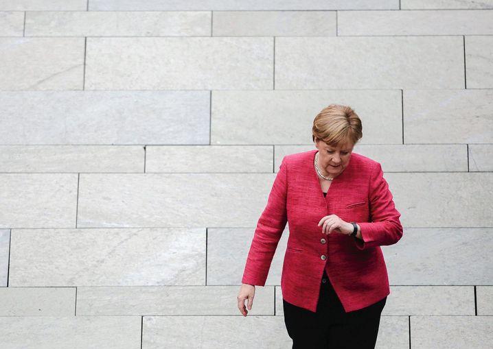 Kanzlerin Merkel: Erschöpft und müde
