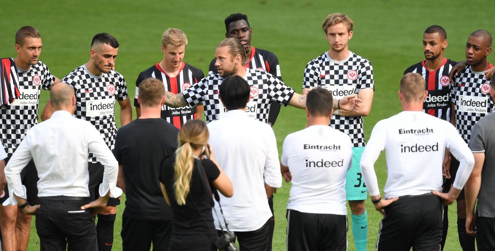 Eintracht Frankfurt - SC Paderborn 07
