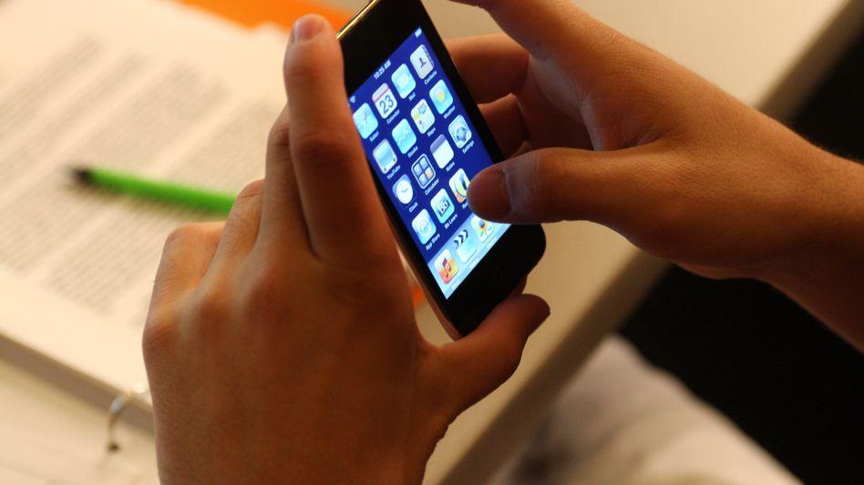 Touchscreen: Durch Wischen den Akku wieder aufladen