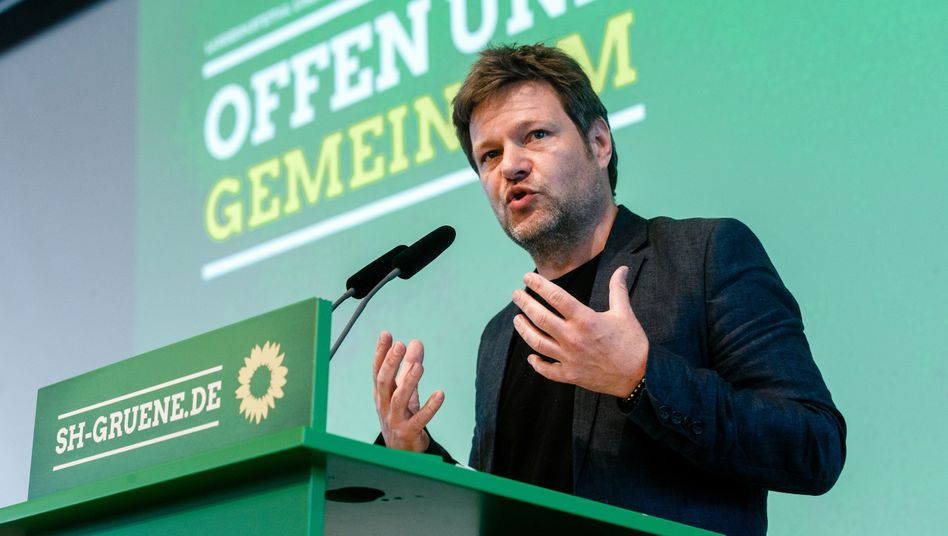 Grünen-Politiker Habeck: Unterstützung von Joschka Fischer?