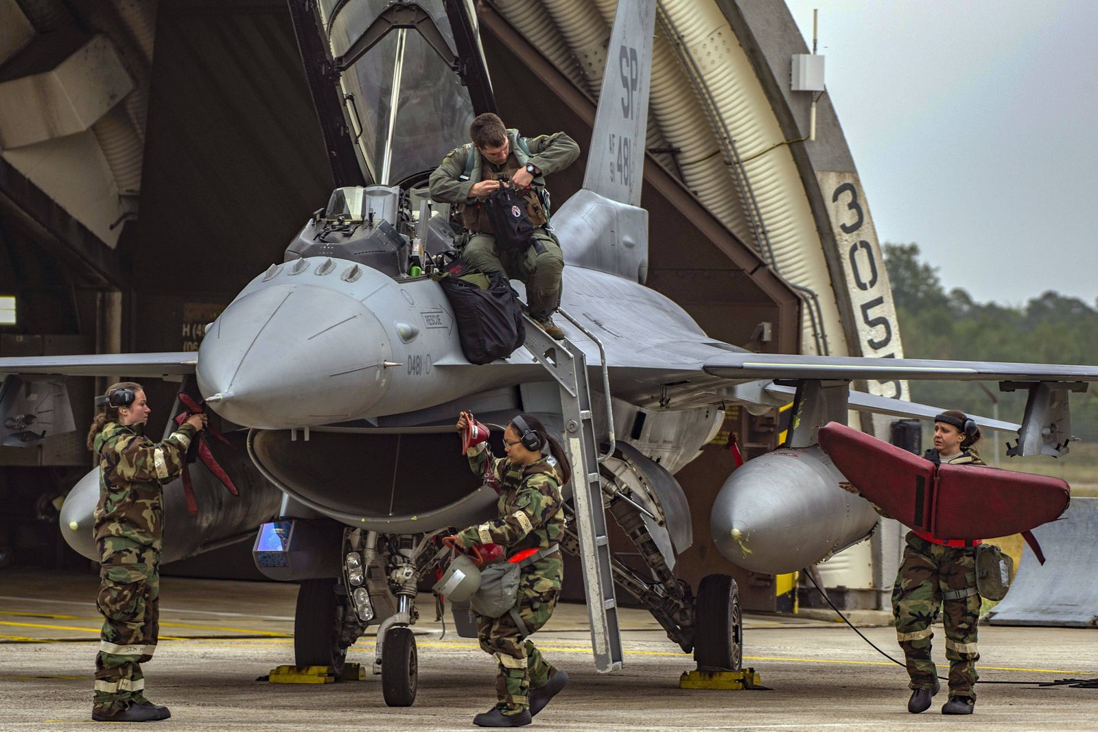 September 13, 2018 - Spangdahlem Air Base, Baden-Wurttemberg, Germany - Capt. Timothy Neely, 480th Fighter Squadron pil
