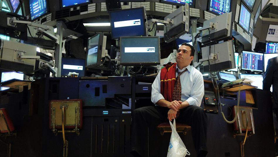 Börse in New York: Abwertungswettlauf an den internationalen Devisenmärkten