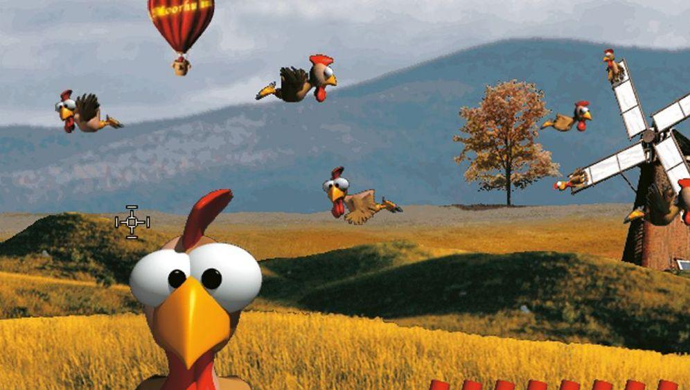 Game-Klassiker Moorhuhn: Ich wollt, ich wär kein Huhn