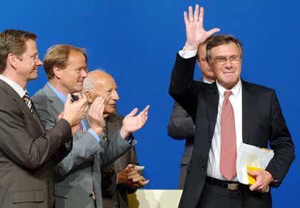 Vize-Parteichef Wolfgang Gerhardt: Anwärter aufs Außenamt