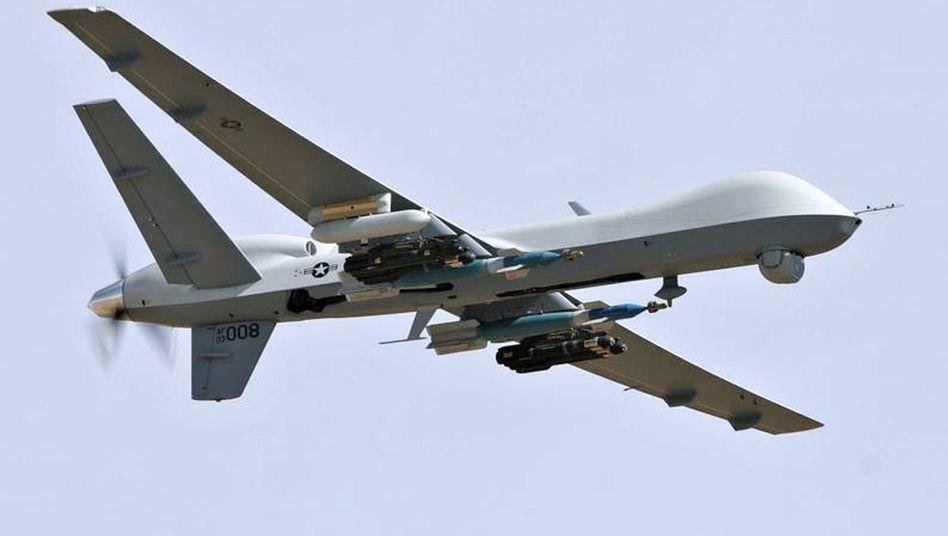 Predator-Drohne mit Hellfire-Raketen: Standard-Arsenal für Angriffe auf Terroristen