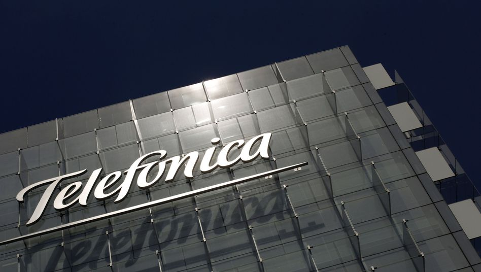 Telefónica-Hauptquartier in Madrid: Big Money mit Big Data?