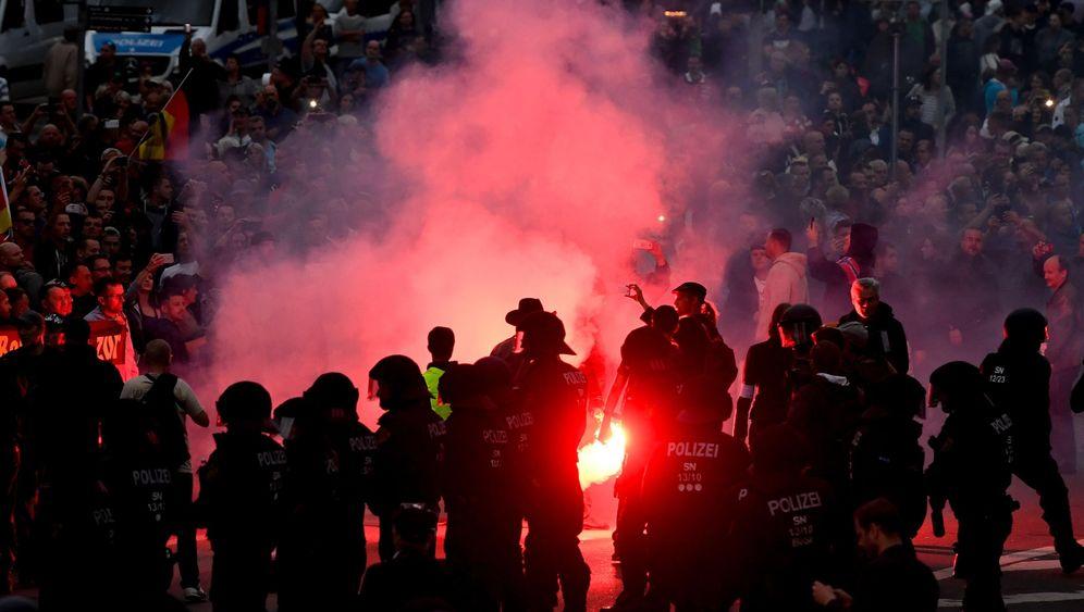 Photo Gallery: Race Riots in Chemnitz