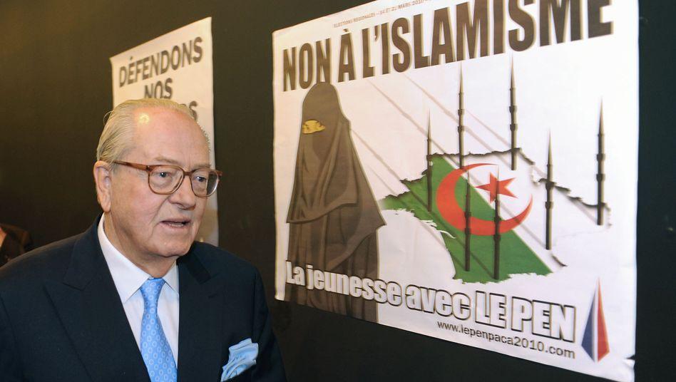"""""""Nein zum Islamismus"""": Front-National-Chef Le Pen appelliert an den Fremdenhass"""