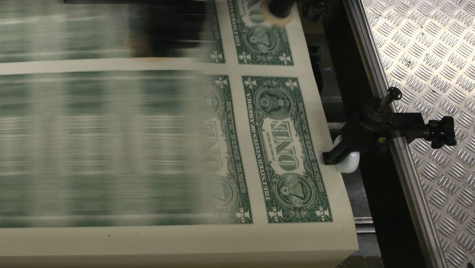 Die US-Notenbank hat Geld in den Bankenmarkt gepumpt