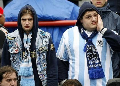 1860-Fans: Angst vor dem Abstieg