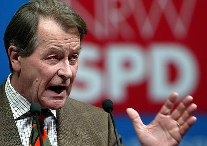 SPD-Chef Müntefering: Eine zu vernachlässigende Größe