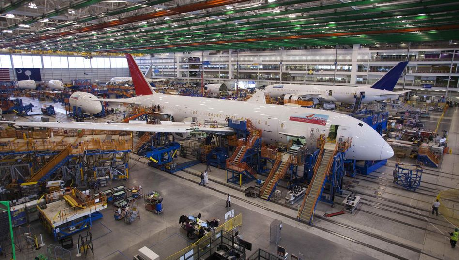 Boeing-Fertigung in South Carolina (Archiv)