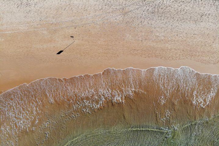 Menschenleerer Manly Beach (Archivbild)