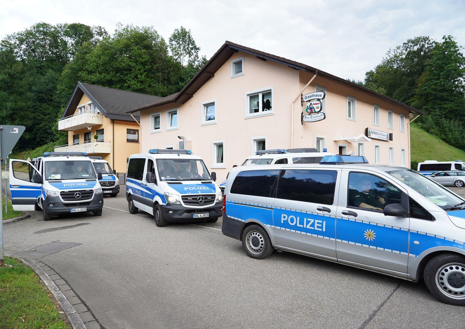 Bewaffneter von Oppenau ist gefasst