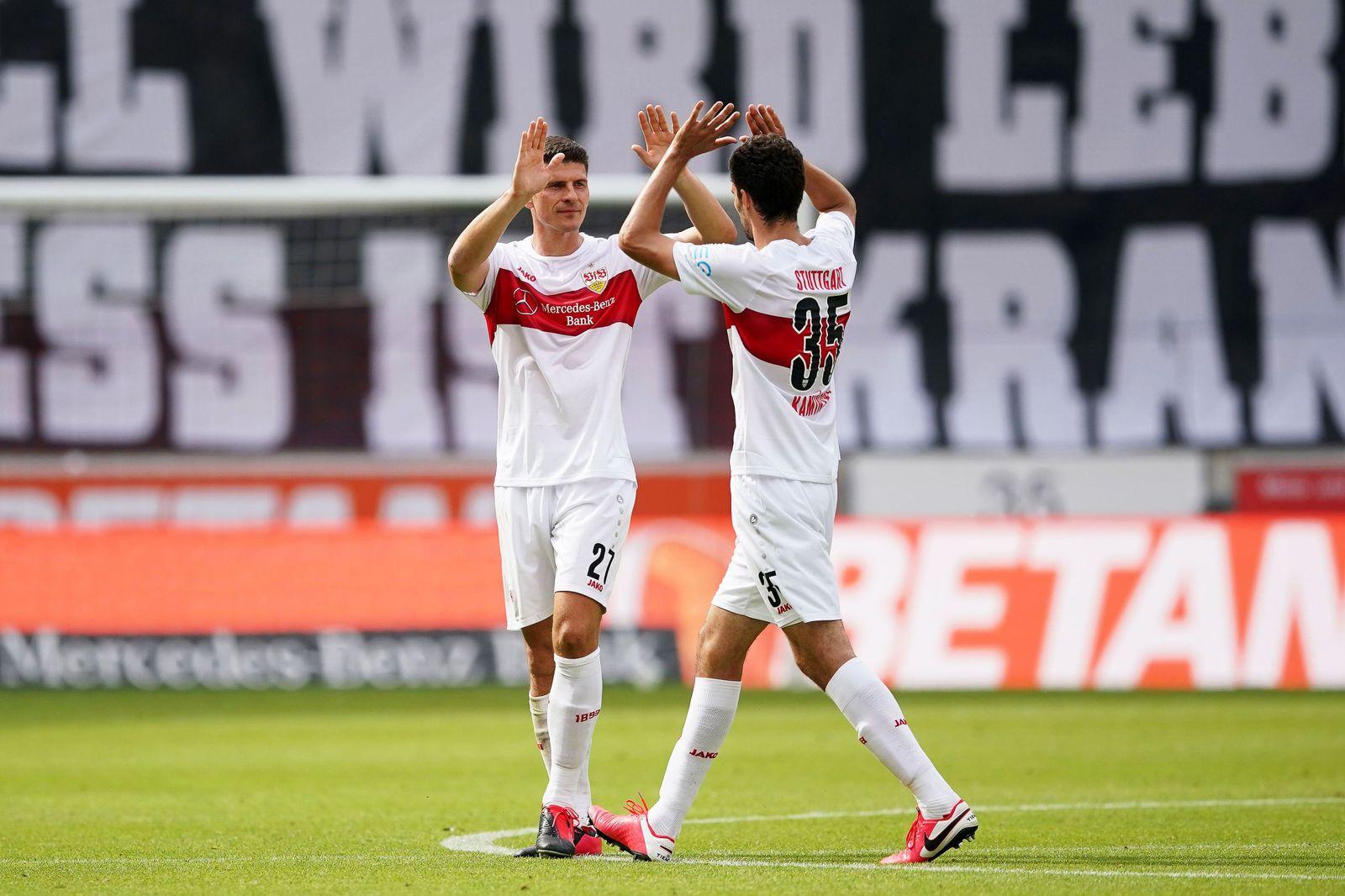 VfB Stuttgart vs SV Darmstadt 98, Germany - 28 Jun 2020