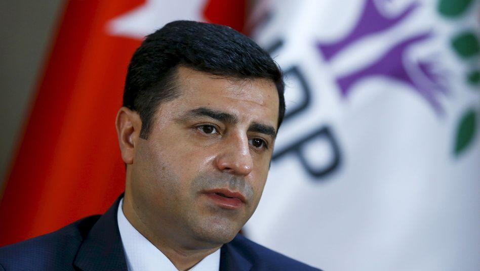 Kurdischer Politiker Demirtas: Schwere Vorwürfe an die Führung in Ankara