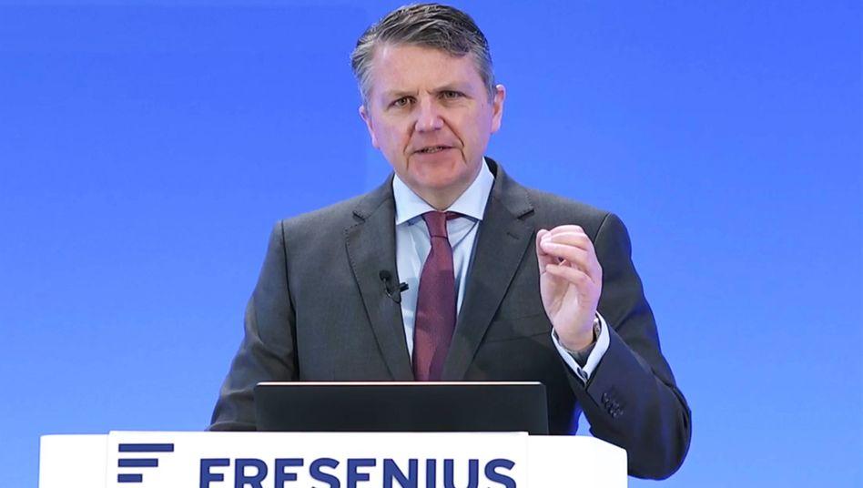 Fresenius-Chef Sturm: »Mindestens in etwa stabil« bleiben