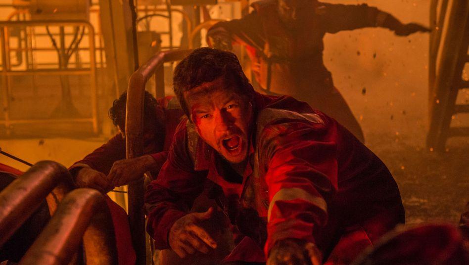 """Katastrophenfilm""""Deepwater Horizon"""": Andacht und Action"""