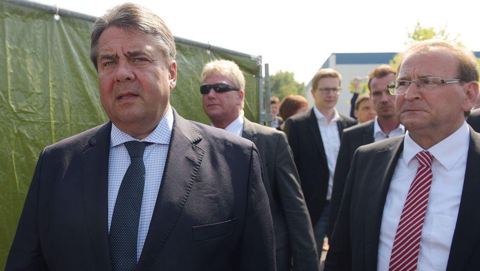 SPD-Chef Gabriel in Heidenau: Die Kapitulation der Politik
