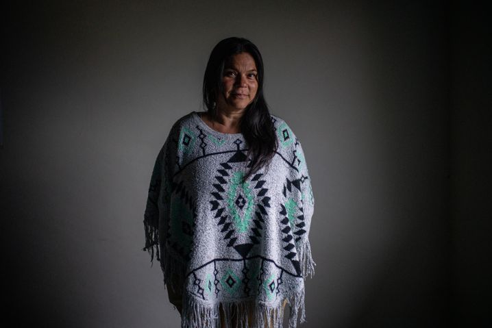 Cuba Atazú, 49, has spent virtually her entire life with FARC. She has four sons.